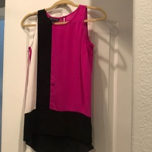 Inc three colored top size xs